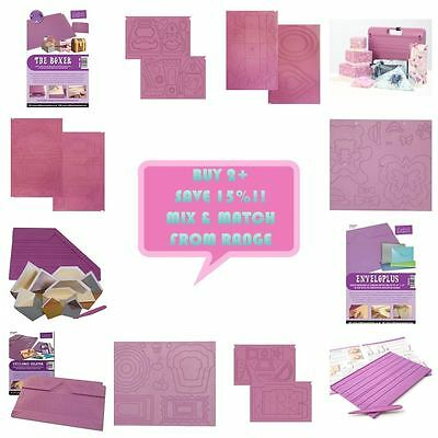 Crafters Companion Scoring Pro Embossing Boards Collection - FULL RANGE