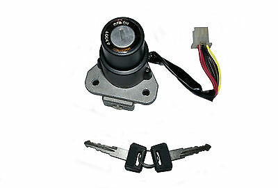 Kawasaki KLR250 ignition switch 6 wires (1987-2005) new - fast despatch
