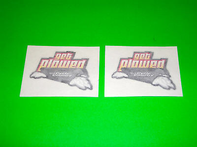 Cycle Country Get Plowed Atv Quad Utv Stickers Decals
