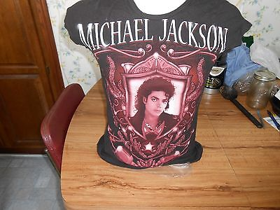 Vintage Michael Jackson Shirt Ladies Small Womens Shirt Mirror