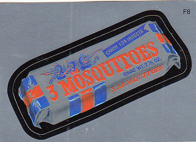 Wacky Packages 2010 Series 7 Ans7 Foil Card F9 3 Mosquitoes