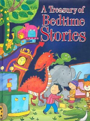 NEW A Treasury Of Bedtime Stories By Sandcastle Books Hardcover Free Shipping