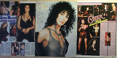3 german clipping CHER NOT SHIRTLESS SINGER GAY INT. BOYS BOY ROCK BAND GROUP