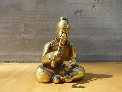 Superb Vintage solid brass figurine-south-east asia ca. 1950s [Y7-W7-A9]