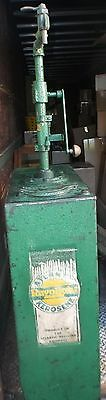 Antique Wayne Pump/Fuel Storage Tank Atlantic Rayolight Kerosene Pickup ONLY