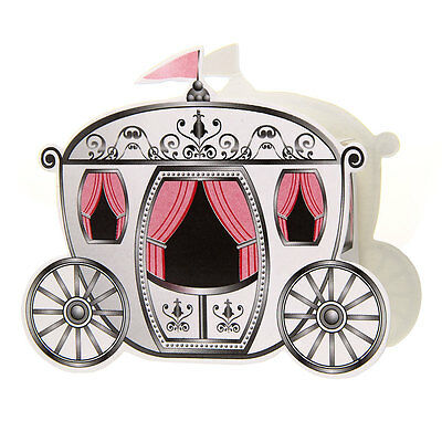 12 Candies Sweets Gift Bag Box Wedding Party Birthday Favors Carriage
