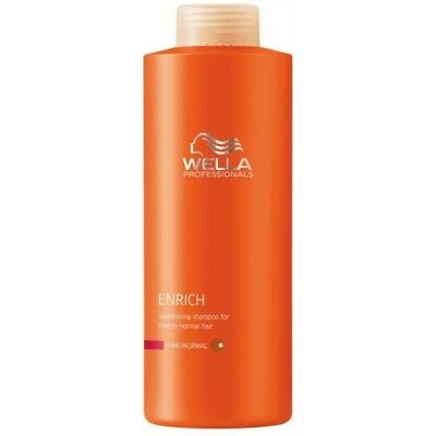 Wella Care Enrich conditionner Cheveux Fin/Normaux 1000 ML