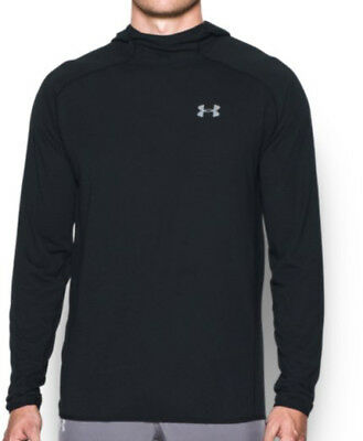 Under Armour Streaker Run Pull-Over Mens Hoody - Black
