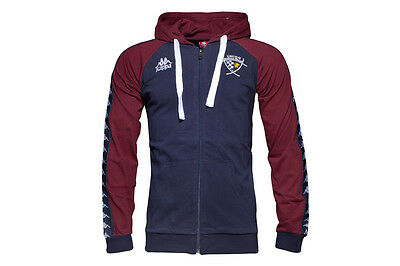 Kappa Union Bordeaux Begles 16/17 Hooded Rugby Sweat