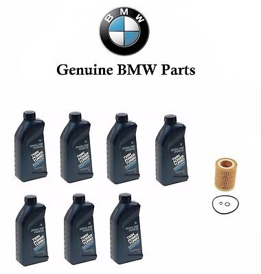 7-Quarts Genuine Synthetic For BMW 5W30 Motor Oil & 1 Oil Filter For BMW 325XI