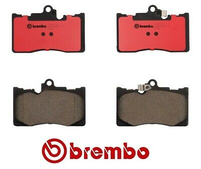 Front /& Rear Brake Pad Kit Brembo P83072N Lexus IS350 GS350 GS460 P83073N For