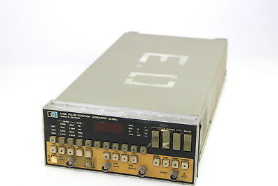 HP 8116A Pulse Function Generator 50 MHz