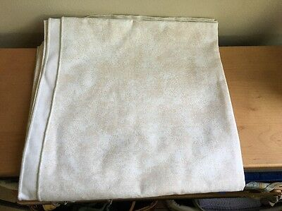 "Longaberger 52"" Sandstone Fabric Square Tablecloth"