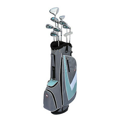 New RAM G-Force Women's Complete Golf Set w/ 9 Clubs + Deluxe Stand Bag RH