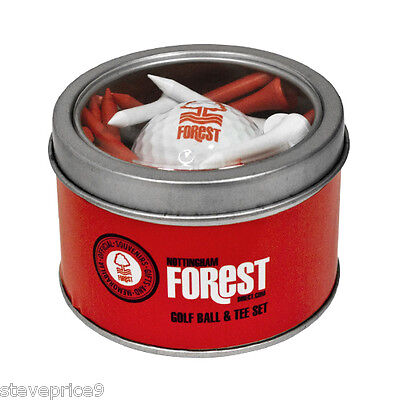 Nottingham Forest Fc Golf Gift Set. Golf Ball And Tees