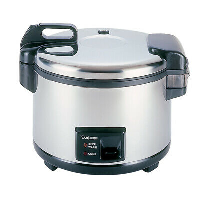 Zojirushi NYC-36 20Cup (Uncooked) Commercial Rice Cooker &Warmer Stainless Steel