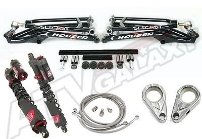 Houser A-arms Elka Shocks Stage 5 Suspension Kit Yamaha Raptor 700 All Years