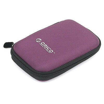 """Protection Case for Hard Disk Drive HDD 2.5"""" inch / Shell Enclosure Box Purple_O"""