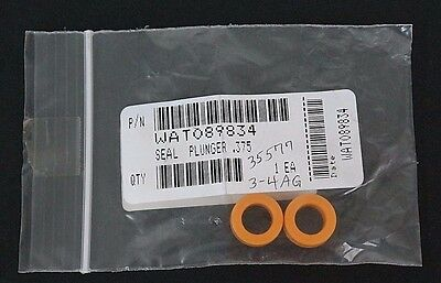 Lot Of 2 New Waters Wat089834 Plunger Seals .375