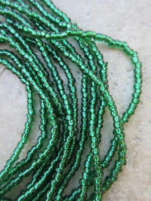 African Glass Beads -6 Strands [65193]