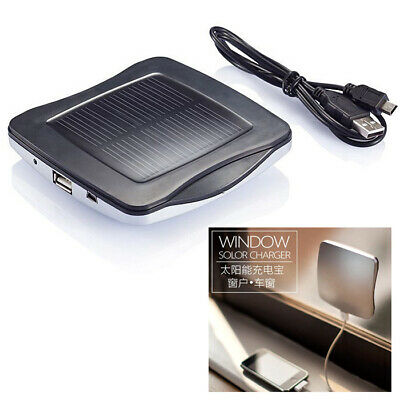 Solar Charger Power Bank 2400mAh Window Car Auto Adhesive for Smartphone / SL
