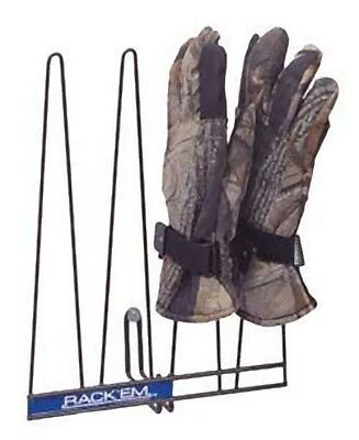 Rackems Glove Rack in Black - Holds 2 Pairs