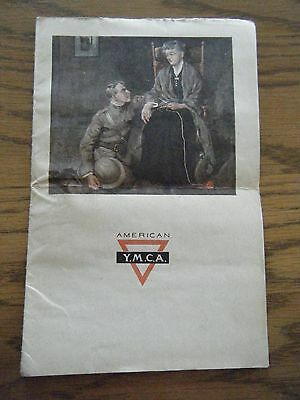 """YMCA """"Mother"""" Booklet Great Cover - Original"""