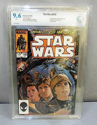 STAR WARS #100 (White Pages) CBCS 9.6 NM+ Marvel Comics 1985 cgc
