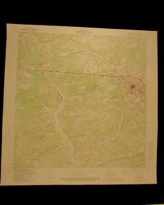 Dickson Tennessee vintage 1987 original USGS Topographical chart