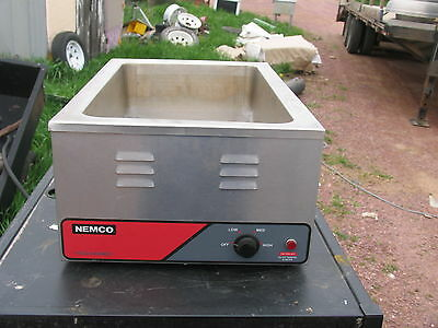 Nemco Full Size Countertop Food Warmer/cooker 1200 Watts - 6055A