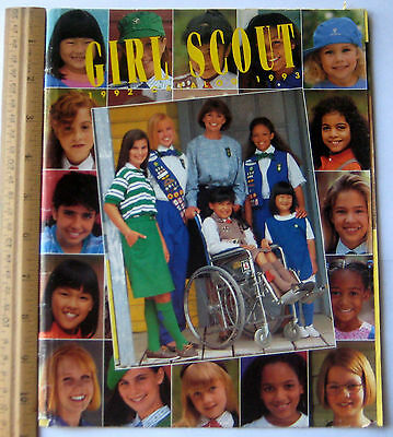 Girl Scout 1992-1993 EQUIPMENT CATALOG Book Official Uniform Jewelry Reference