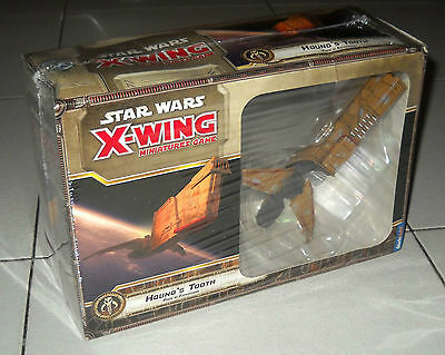 STAR WARS X-WING Hound's Tooth PACK espansione NUOVO Miniature game