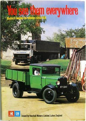 BEDFORD A History of Commercials Vehicles since 1931 - Brochure -1978 - PR 10/78