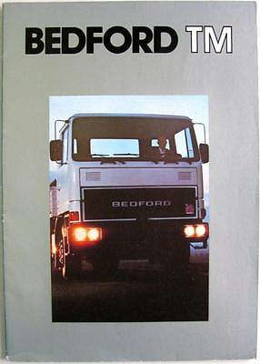 BEDFORD TM - Sales Brochure -  French Text - 1980s