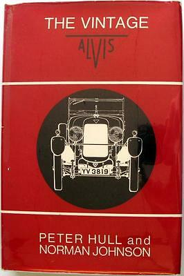 The Vintage Alvis (First Edition) - Peter Hull, Norman Johnson Car Book