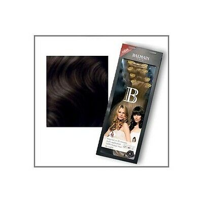 Balmain double hair Chatain N°4