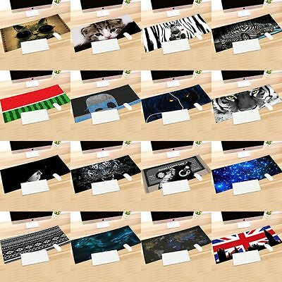 Print Rubber 900*400*2MM Anti-Slip Computer Rubber Game Mouse Pad Mat Large XL