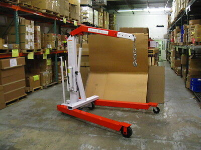 OTC POWERTEAM 1820 4400LB Capacity Heavy-Duty Motor Crane - NEW **FREE SHIPPING!
