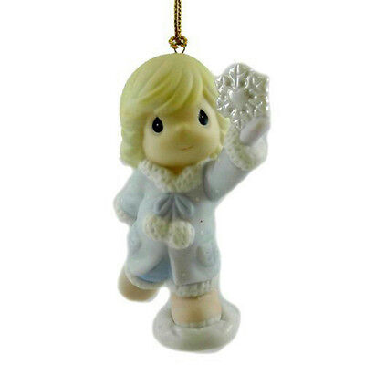 Precious Moments Ornament 2007 You're One of a Kind - Girl w/ Snowflake #710024