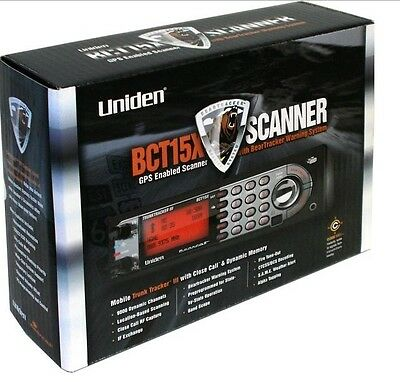 Uniden BCT15X Bearcat Base/Mobile Scanner search 9,000 channels Brand New Low $