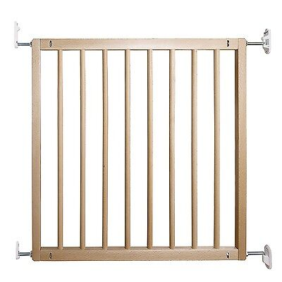 BabyDan No Trip Beechwood Safety Gate Wooden Baby Stair Gate New