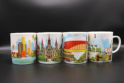 VTG New Orleans Coffee Cup Mug Pete Fountain Superdome Street Car Holmes-Style