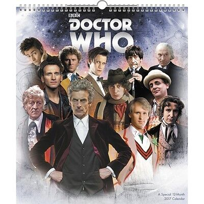 Doctor Who Special Edition  Poster Calendar