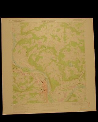 Towanda Pennsylvania vintage 1978 original USGS Topographical chart