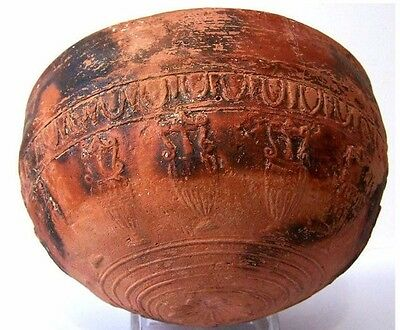 Ancient Greek Megarian Pottery Bowl.