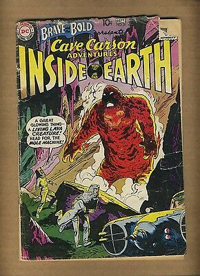 Brave and the Bold 31 (FR-) DC Comics 1960 1st Cave Carson! Silver Age (c#08270)