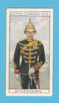 Military  -  Cope  Bros.  -  Rare Eminent British Officers Card No.  13  -  1908
