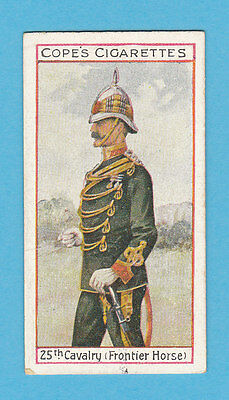 Military  -  Cope  Bros.  -  Rare Eminent British Officers Card No.  17  -  1908