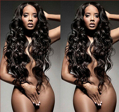 2 Bundles/100g total Brazilian Virgin Body Wave Weave 100% Human Hair Extensions