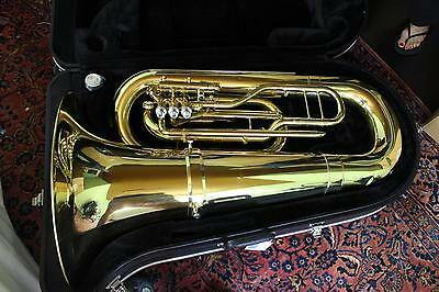 Jupiter Quantum Model 5080L Marching Tuba in Lacquer NICE! QuinnTheEskimo